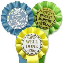 1 tier stock rosette choose your own award