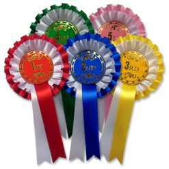 1st - 5th rosettes 2 tier