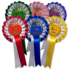 1st - 6th rosettes 2 tier f2