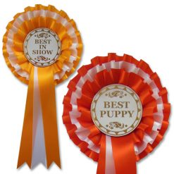 3 tier stock award rosette