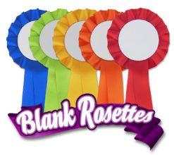 Blank Rosettes