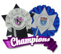 Championship Rosettes