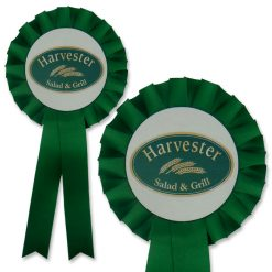 jumbo disc 1 tier promotional rosette