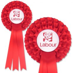 labour party rosette
