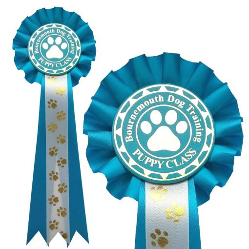 1 tier Personalised Dog Show Rosette