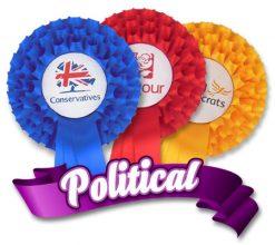Political Rosettes