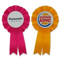 cheap promotional rosettes