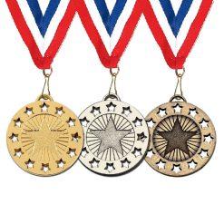 40mm star medal
