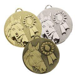 AM1047 horse medal