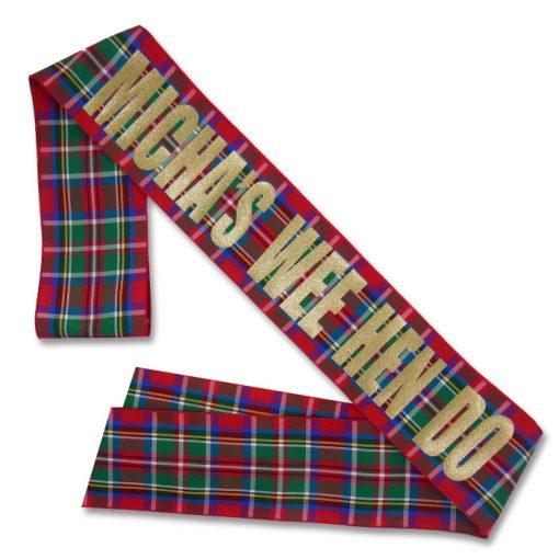 Royal Stewart sash