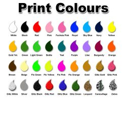 sash print colours