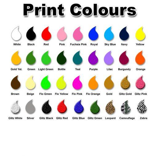sash print colours