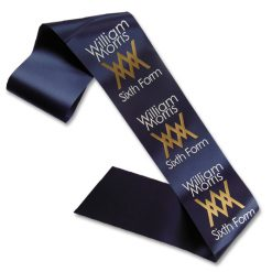 2 colour school sash