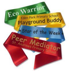 playground buddy sashes