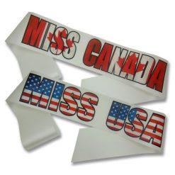 flag print sashes