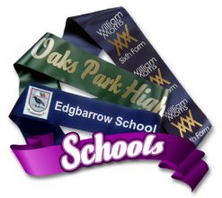 School Sashes