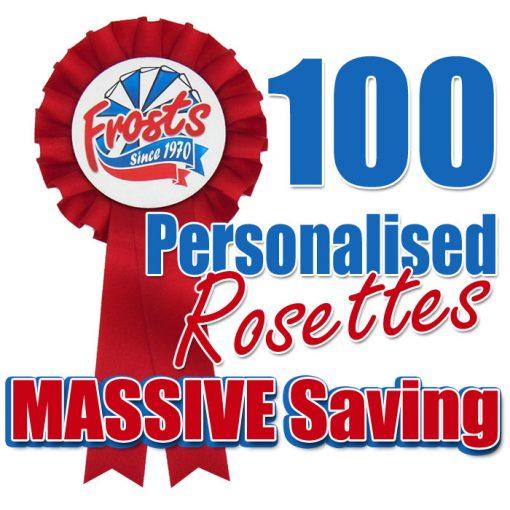 100 x br1 rosette offer