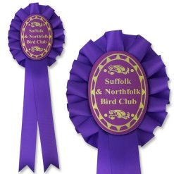 Personalised 1 Tier Oval Rosette