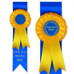 m1/jr1 rosette award ribbon