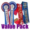 horse rosette and sash pack