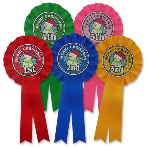 frosty snowman rosettes 5th