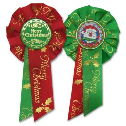 mini christmas rosettes