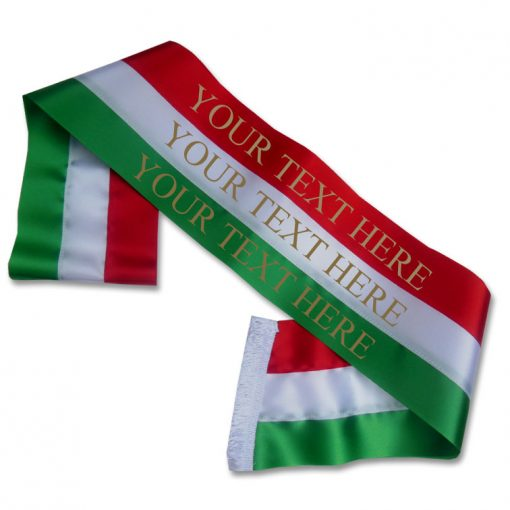 italian coloured sash