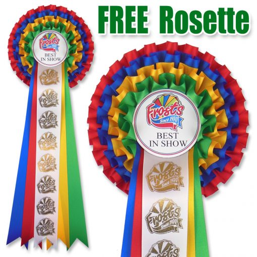 frosts best in show rosette