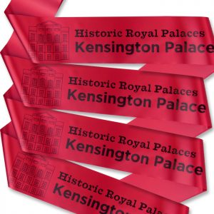Kensington Palace tour guide sashes