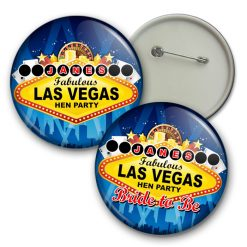 las vegas hen party badge