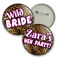 leopard print badge