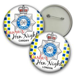 hen party police badge