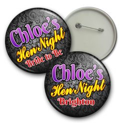 Boudoir Hen Night Badge