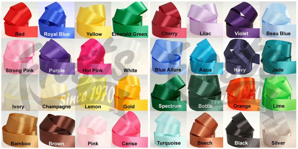 stock ribbon colours