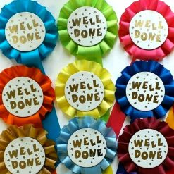 well done star rosette