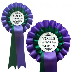 votes for women rosette